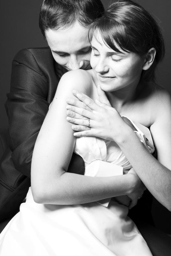 Gosia i Tomek - studyjna sesja ślubna