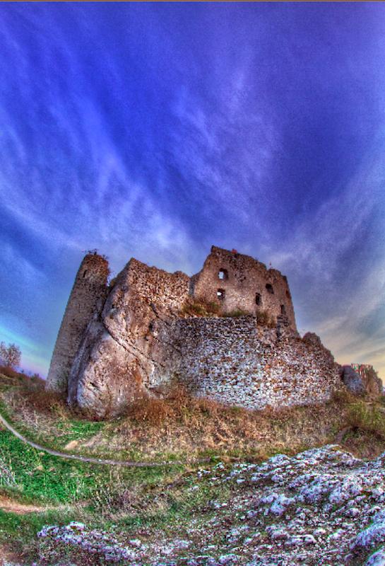 Zamek w Mirowie - szlak orlich gniazd