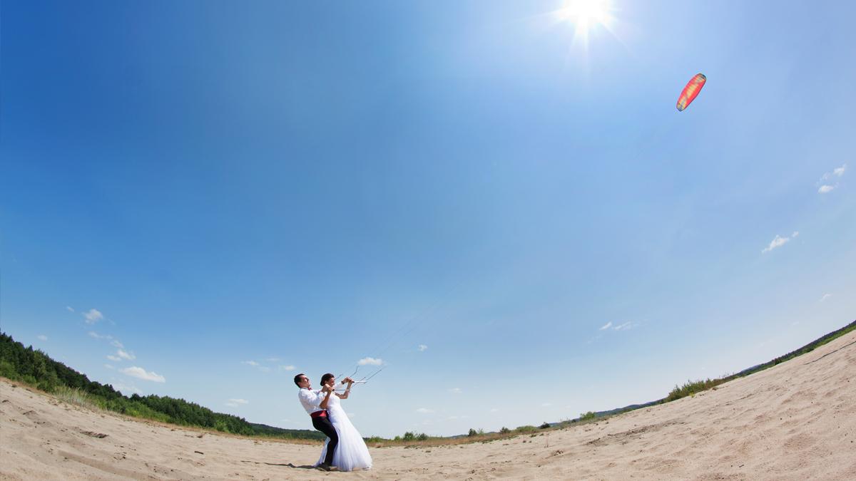 Sesja ślubna Kasi i Przemka