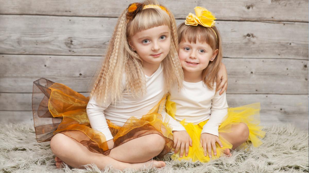 Wiktoria i Julia – sesja dziecięca Zawiercie