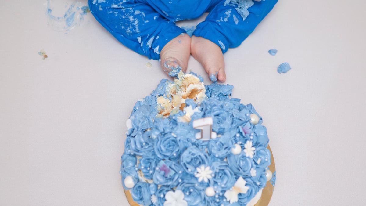 Antoś – sesja cake smash