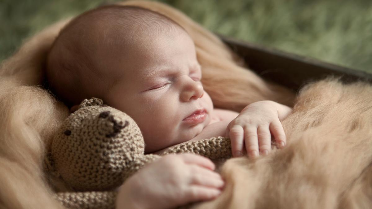 Wojtek – sesja noworodkowa