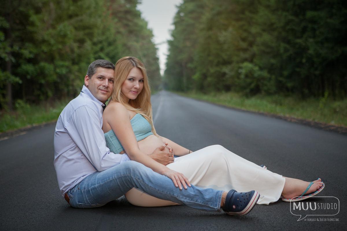 fotografia ciążowa ogrodzieniec