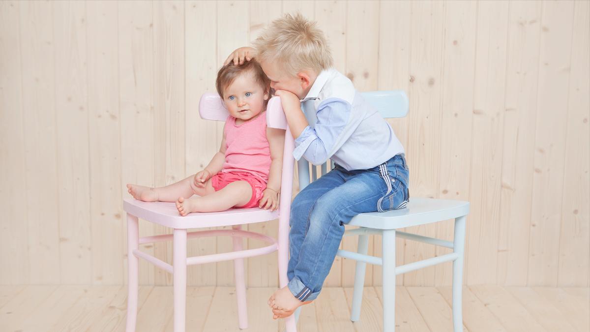 Lili i Olivier – sesja zdjęciowa rodzeństwa