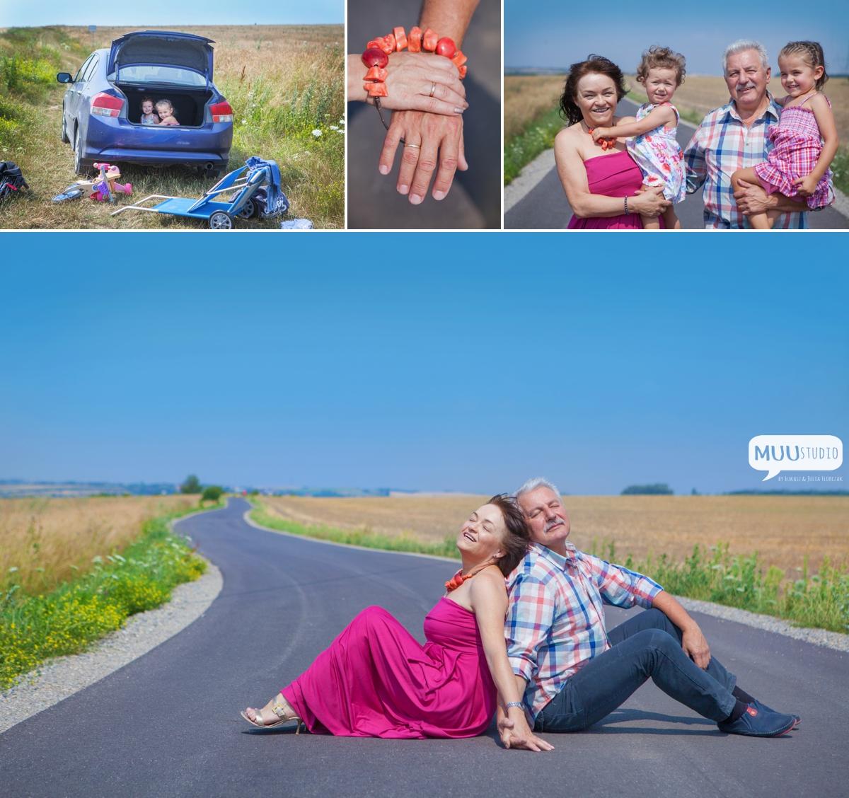 sesja zdjęciowa z okazji rocznicy ślubu