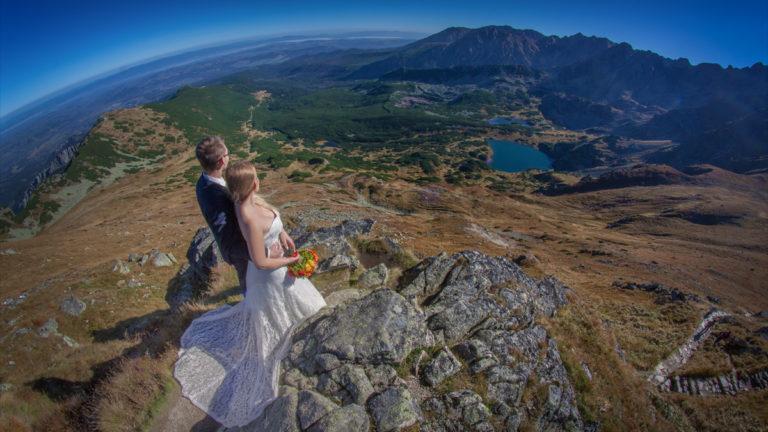 Sesja ślubna w górach Ania & Kamil