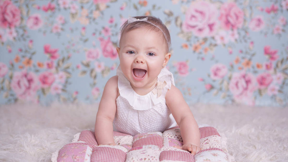 Maja – sesja niemowlęca