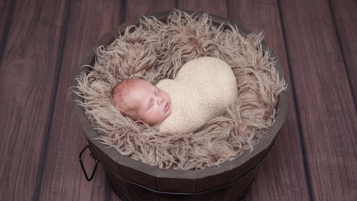 Piotruś – sesja noworodkowa