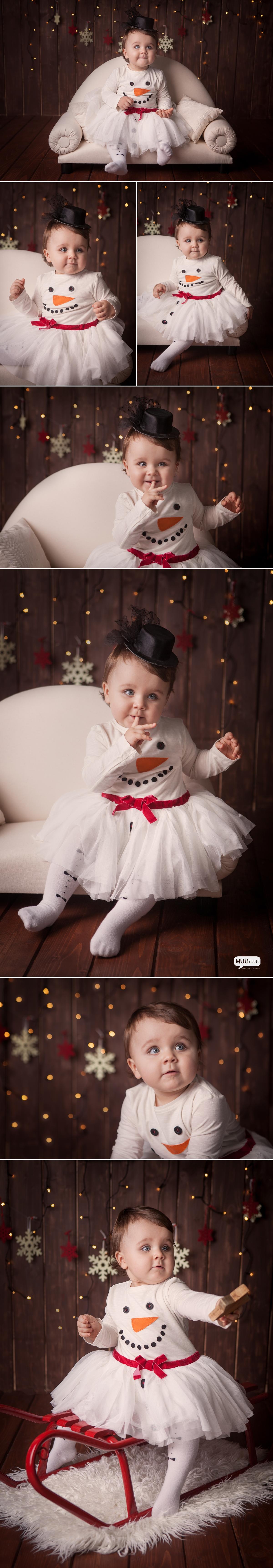 fotografia niemowlęca zimowa śląsk