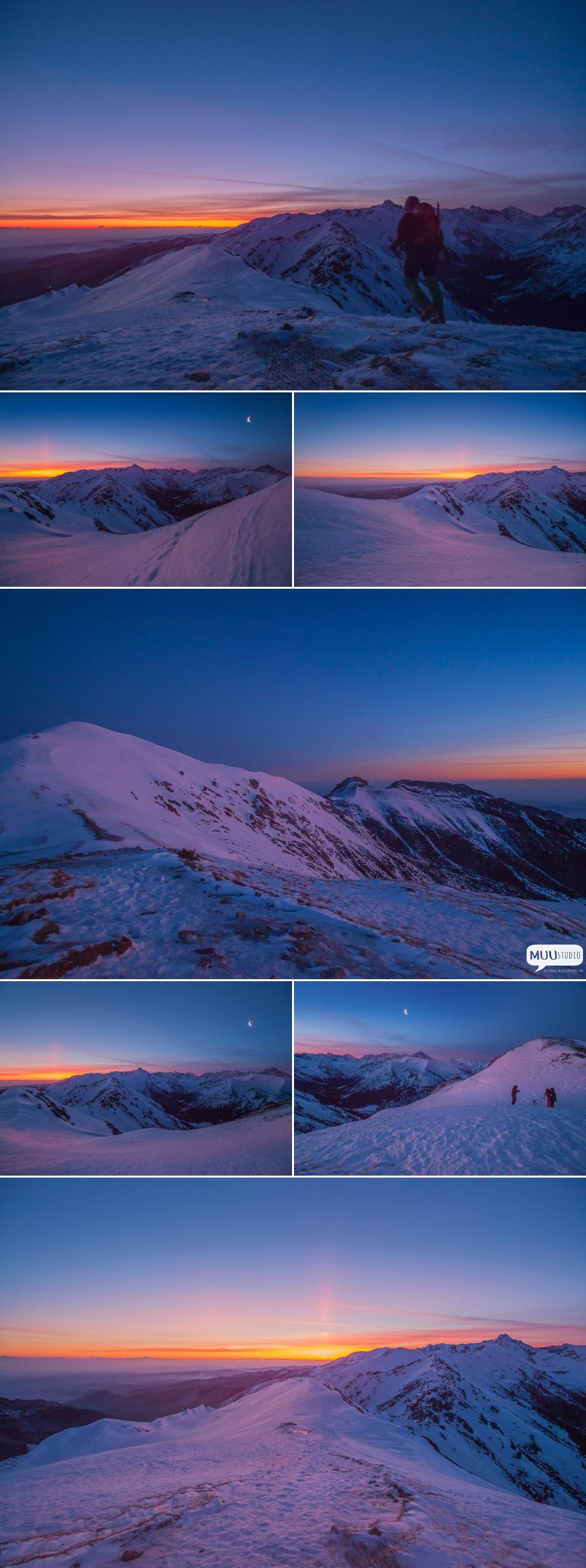 wschód słońca przełęcz pod kopą kondracką
