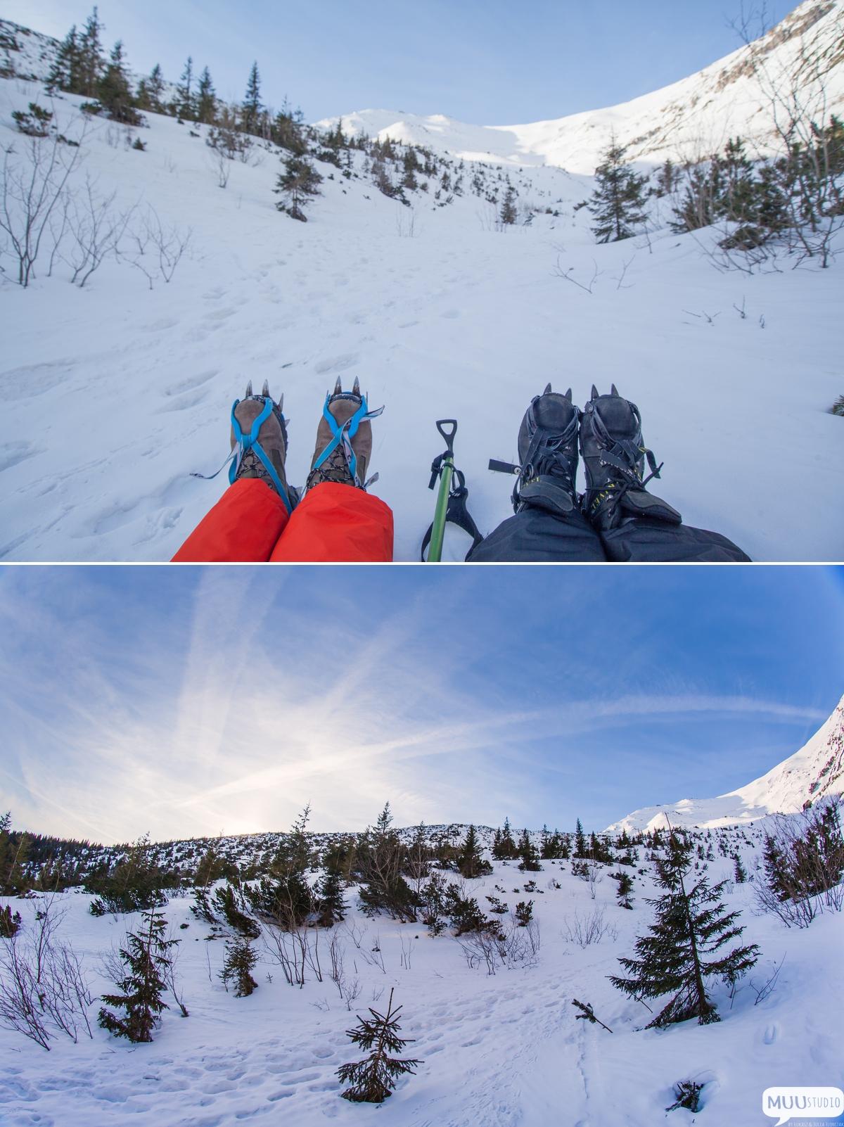 zimowe górskie wyprawy