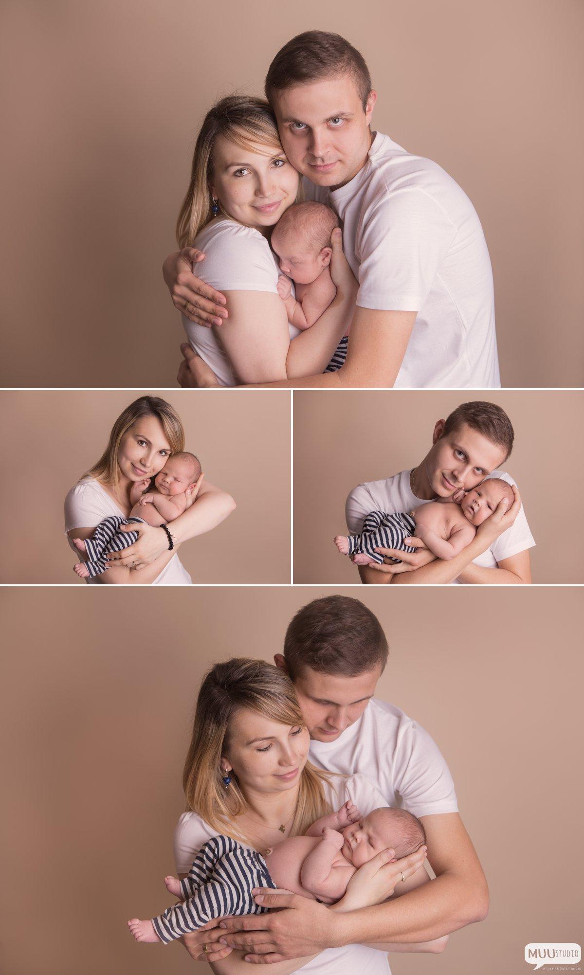 fotografia noworodkowa z rodzicami śląsk