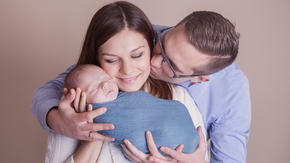 Kajtek – sesja noworodkowa Zawiercie
