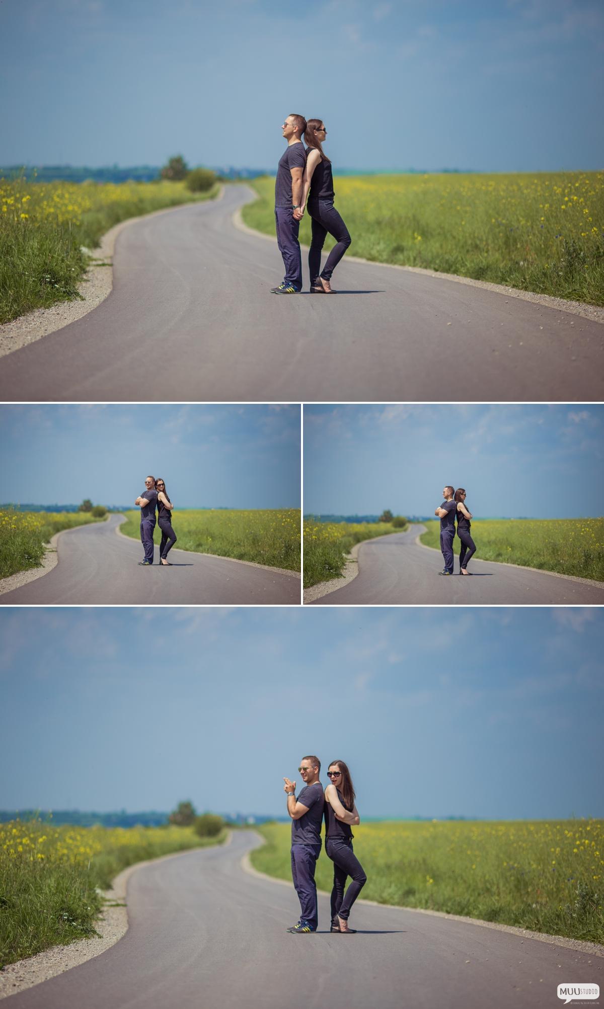 sesja zdjęciowa z okazji rocznicy ślubu ogrodzieniec
