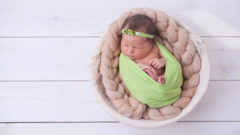 Lena - sesja w brzuchu i noworodkowa :)