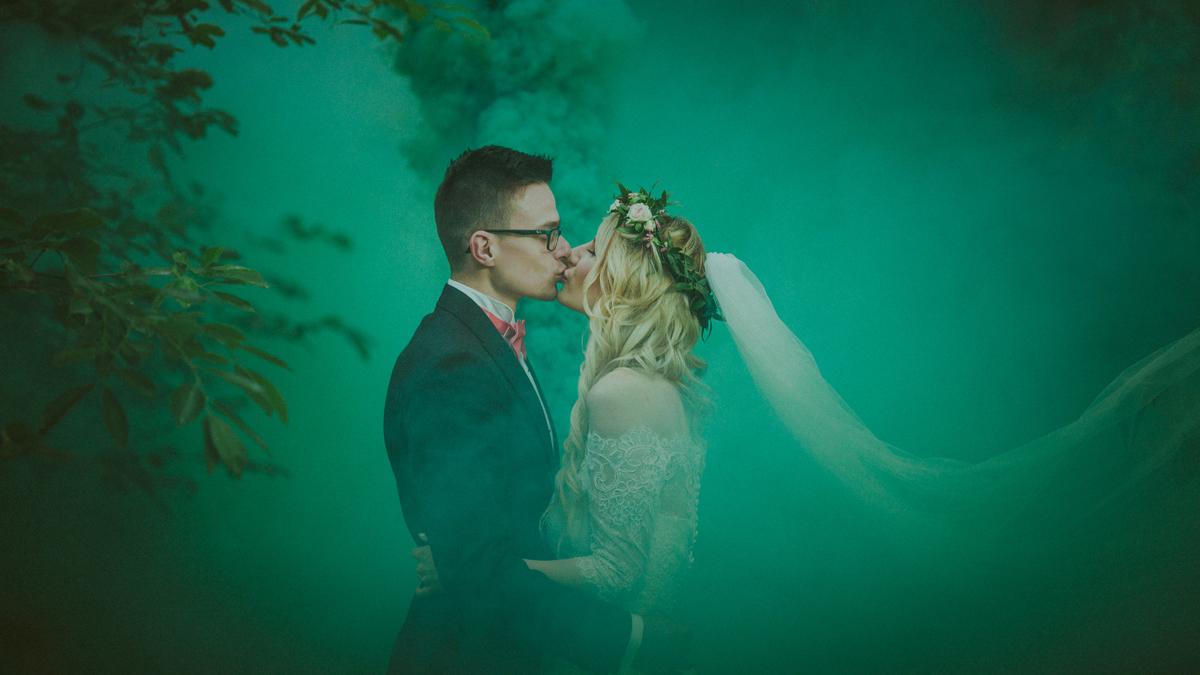 Agnieszka i Łukasz – wyjątkowy plener ślubny