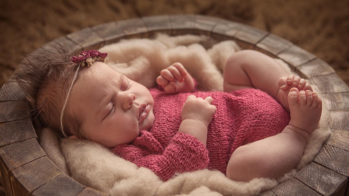 Marysia – zdjęcia noworodkowe
