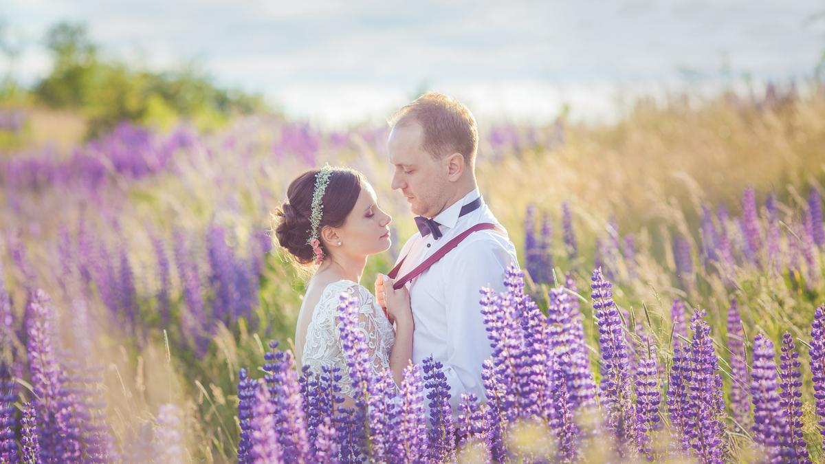 Emilia i Mateusz – mazurski plener ślubny
