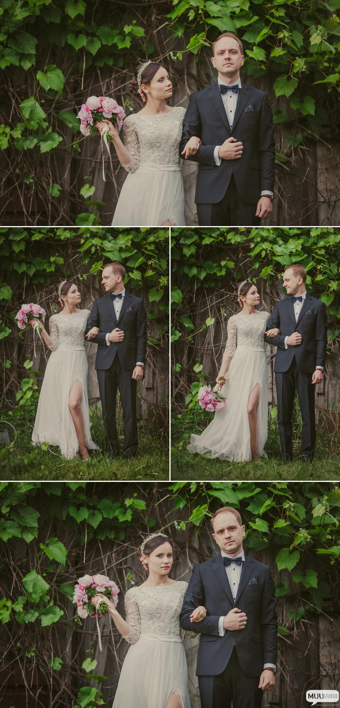 sesja ślubna w plenerze nad jeziorem