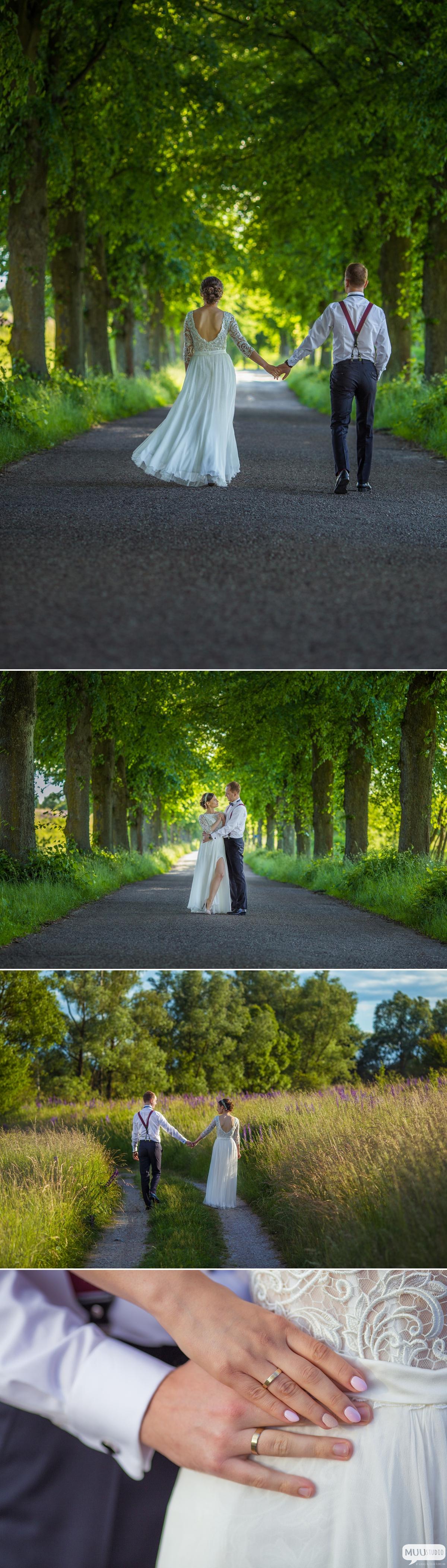 romantyczna sesja ślubna zawiercie