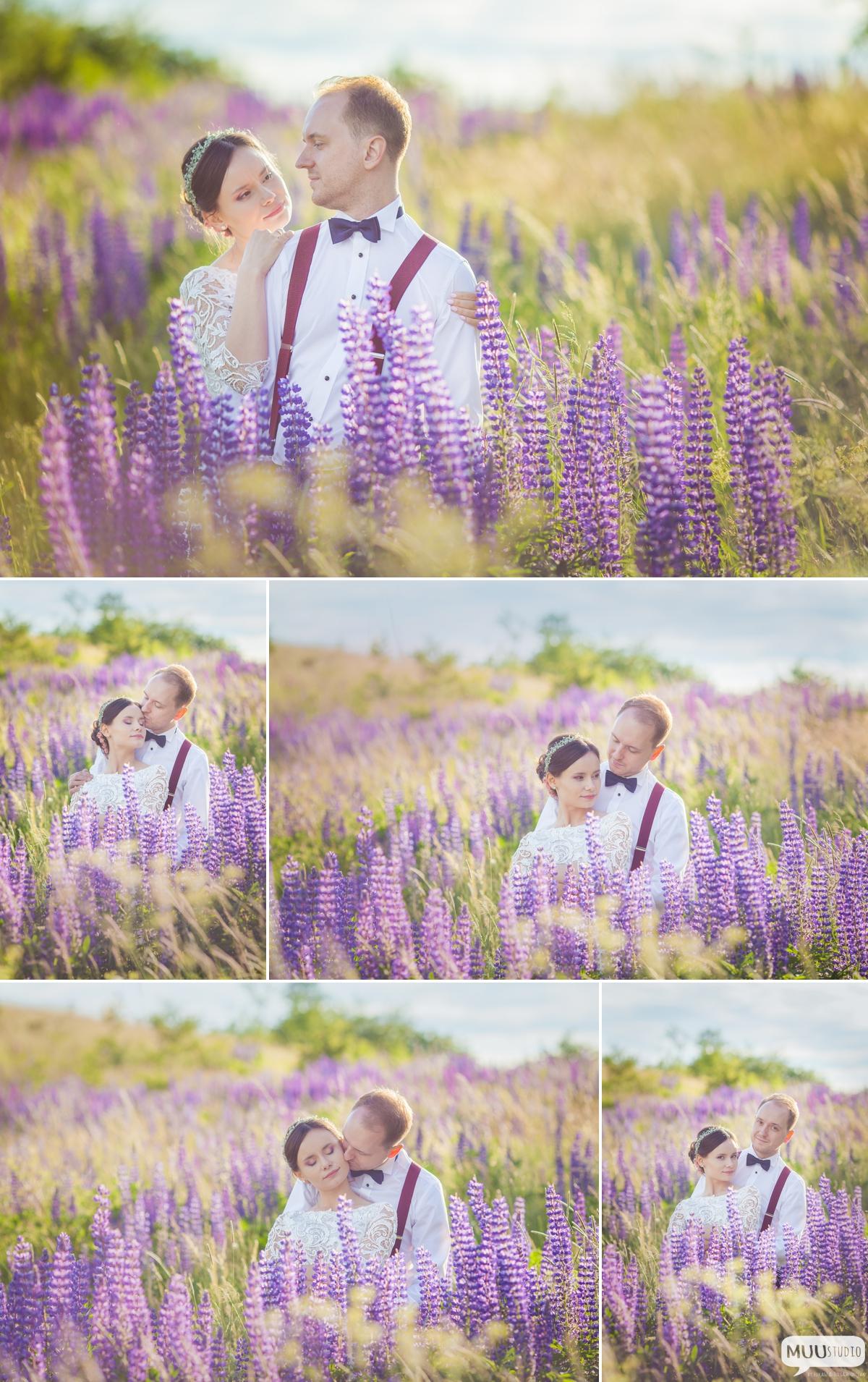 sesja ślubna w stylu rustykalnym