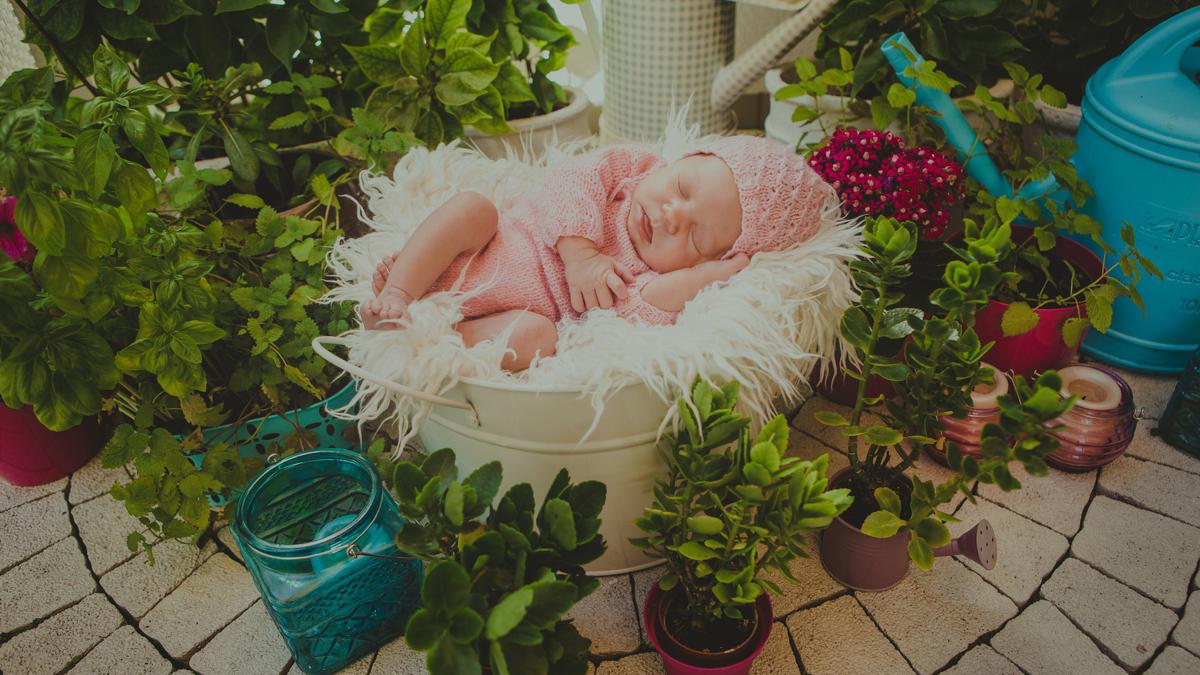 Malinka – sesja noworodkowa