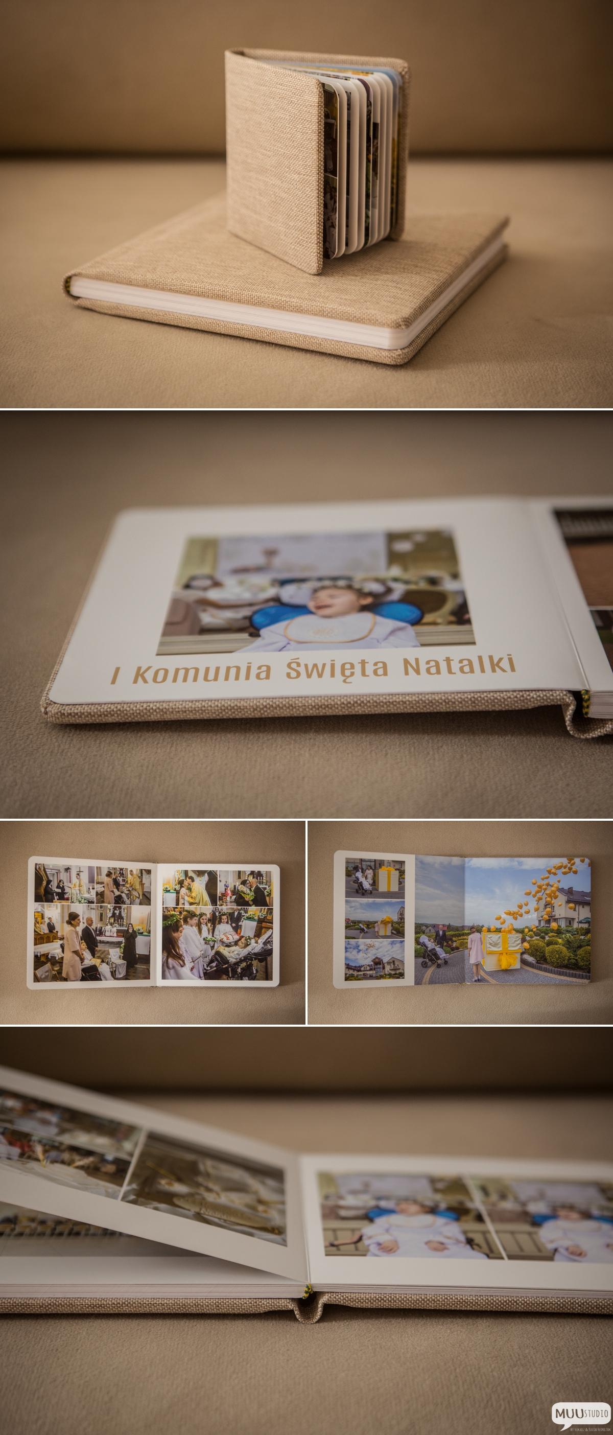 fotoalbum z komunii