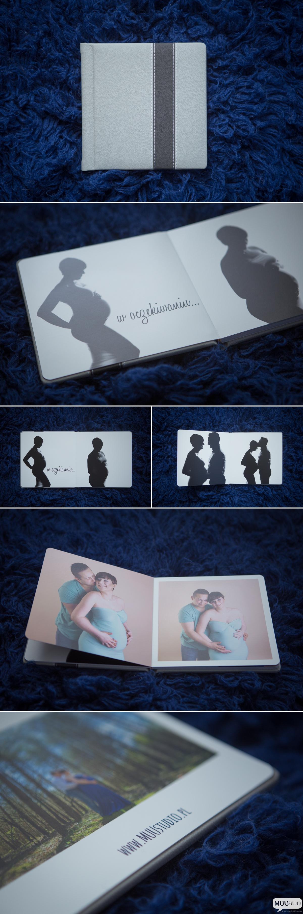 sesja ciążowa z fotoalbumem