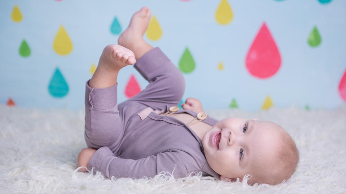 Mikołaj – podwójna sesja niemowlęca w studio Zawiercie