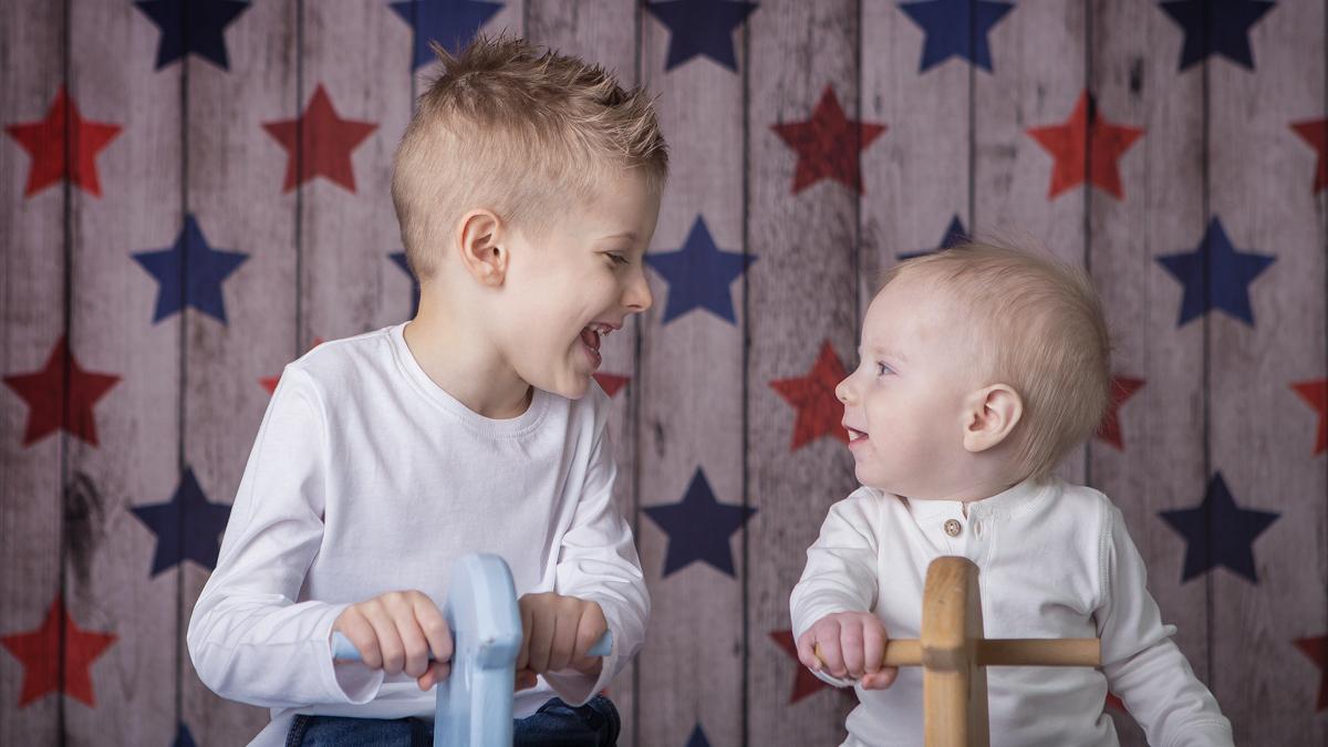 Borys i Bruno – podwójna sesja rodzeństwa w studio Zawiercie