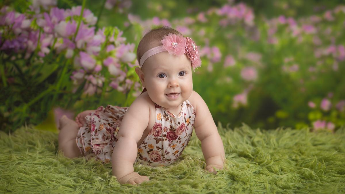 Aleksandra – sesja niemowlęca śląsk