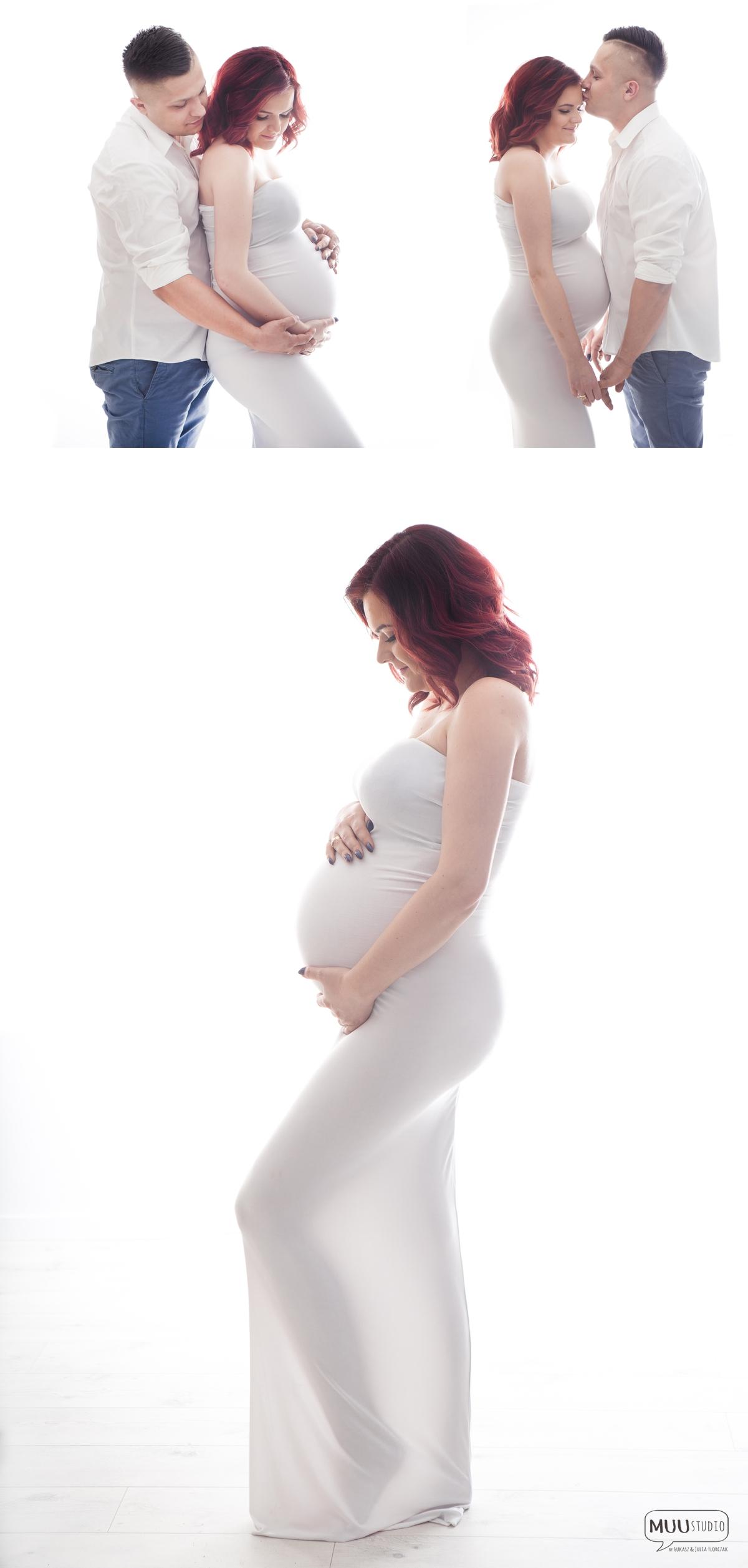 sesja ciążowa w studio katowice