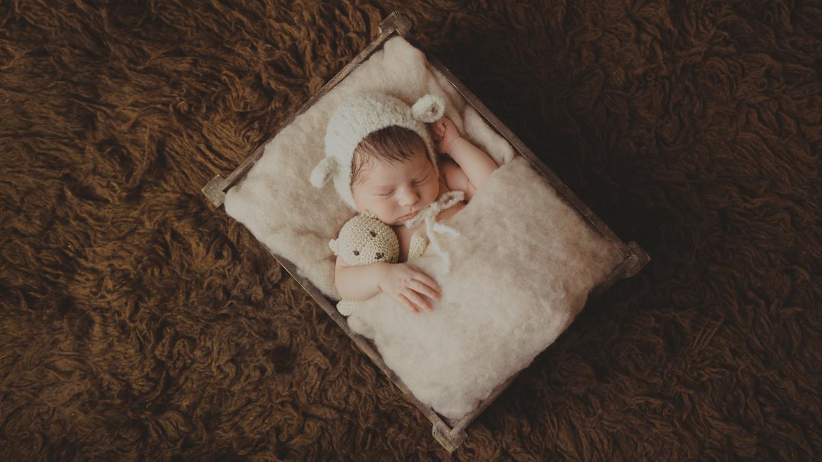Julia – studyjna sesja noworodkowa Zawiercie