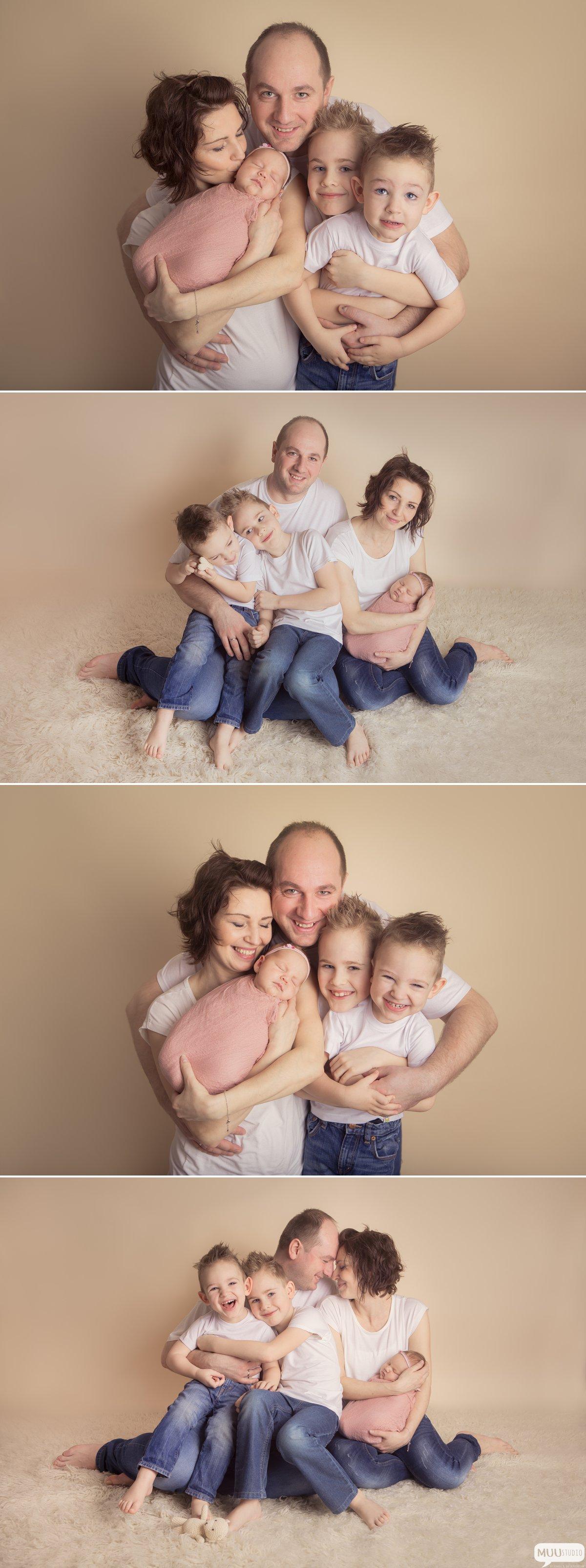 sesja zdjęciowa dużej rodziny śląsk