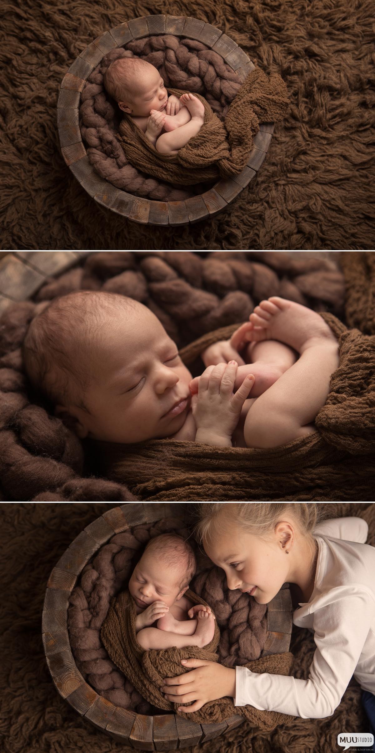 Fotografia noworodkowa w studio zawiercie
