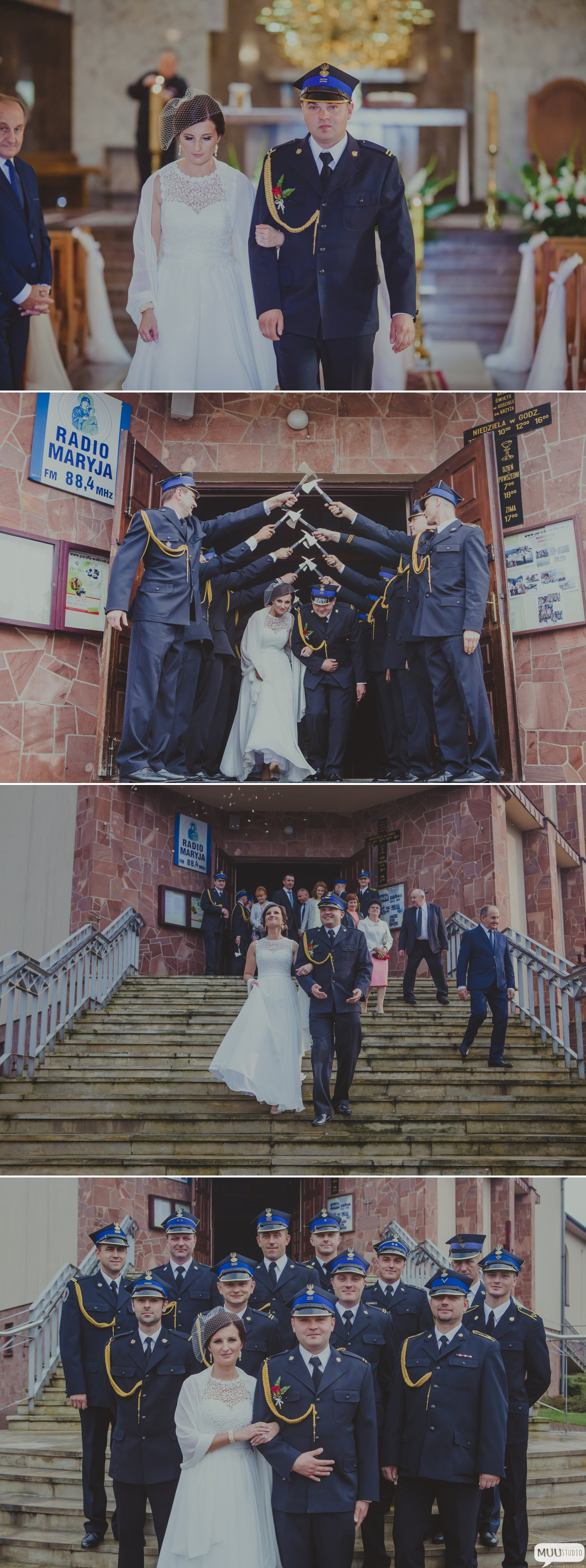 Fotograf na ślub strażaka