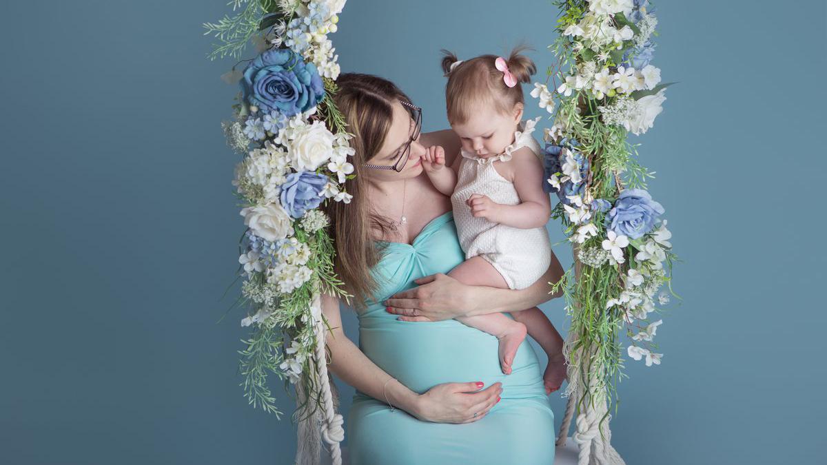 Ciążowo – roczkowa sesja zdjęciowa