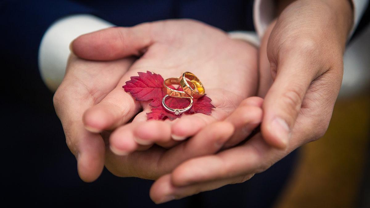Adrianna i Michał – jesienny plener ślubny