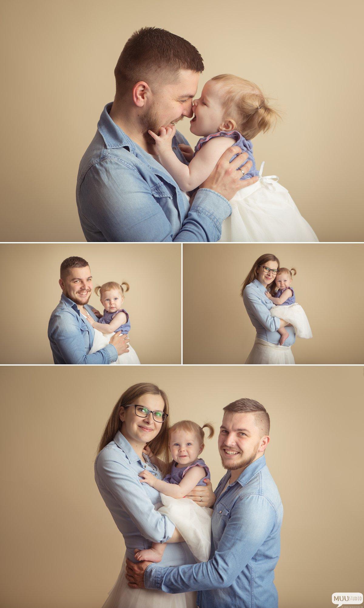 rodzinna sesja zdjęciowa w studio