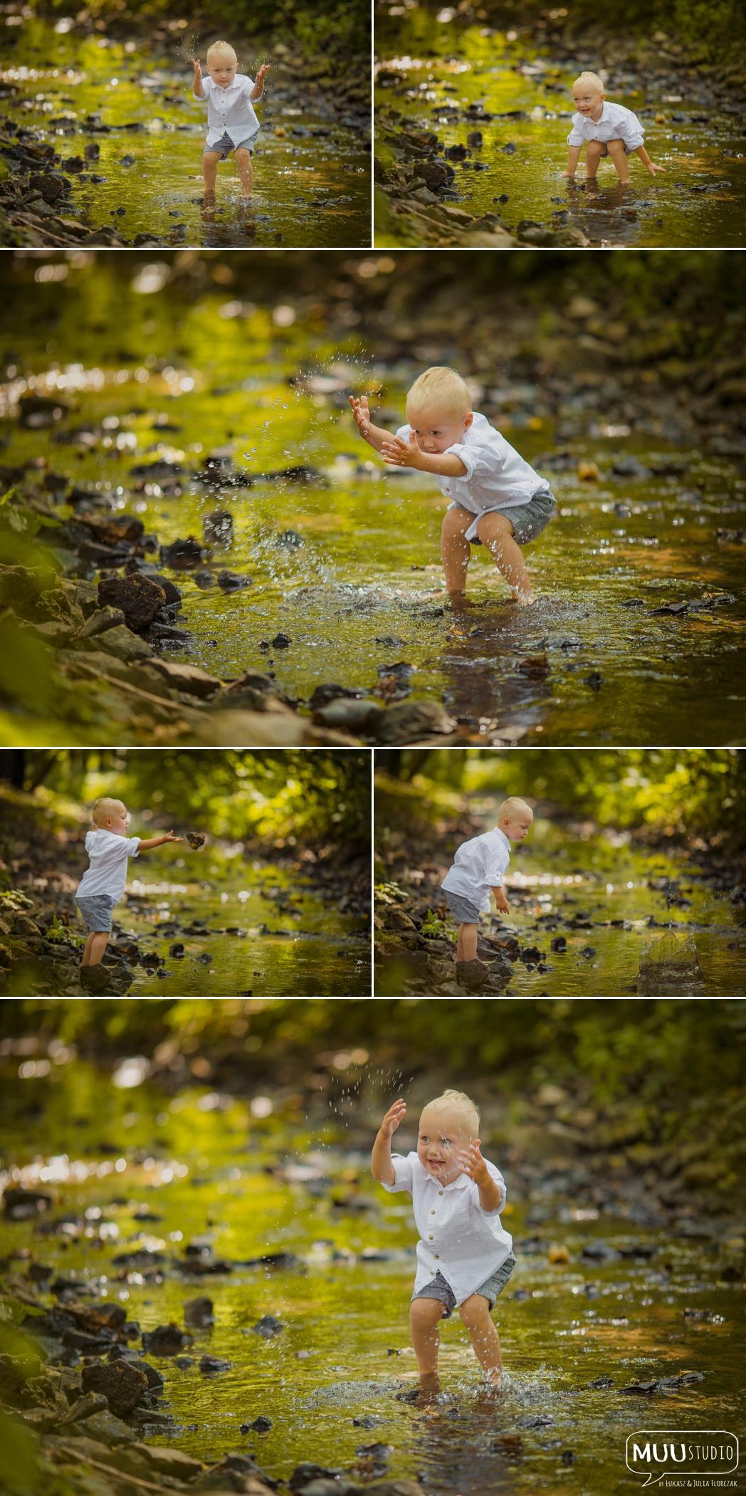 chłopięca sesja zdjęciowa w plenerze kołobrzeg