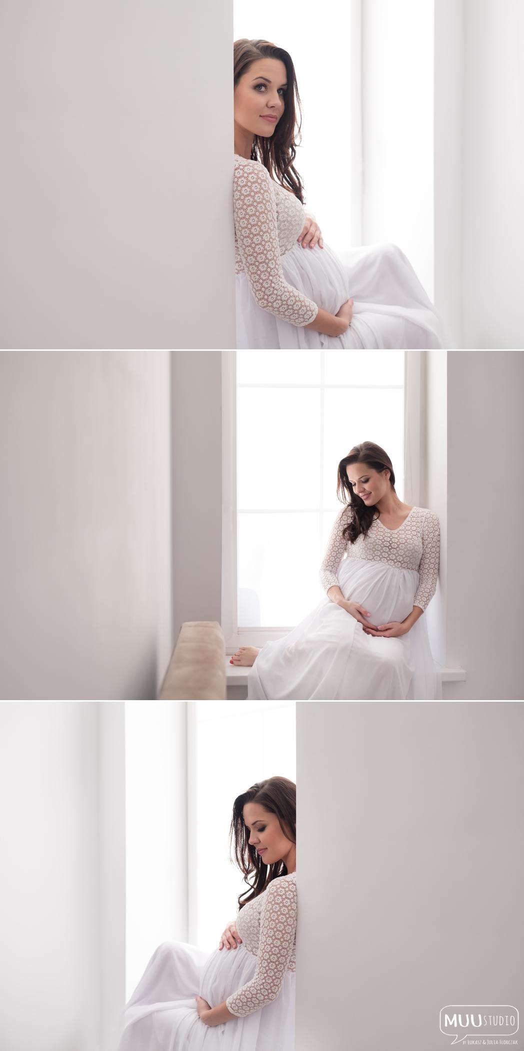 naturalna sesja ciążowa w domu kołobrzeg