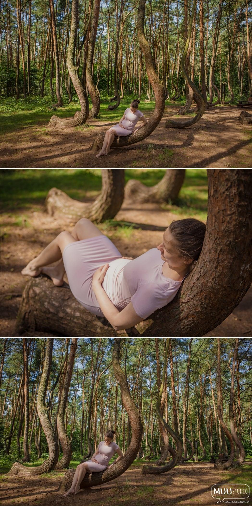 sesja ciążowa w plenerze białogard