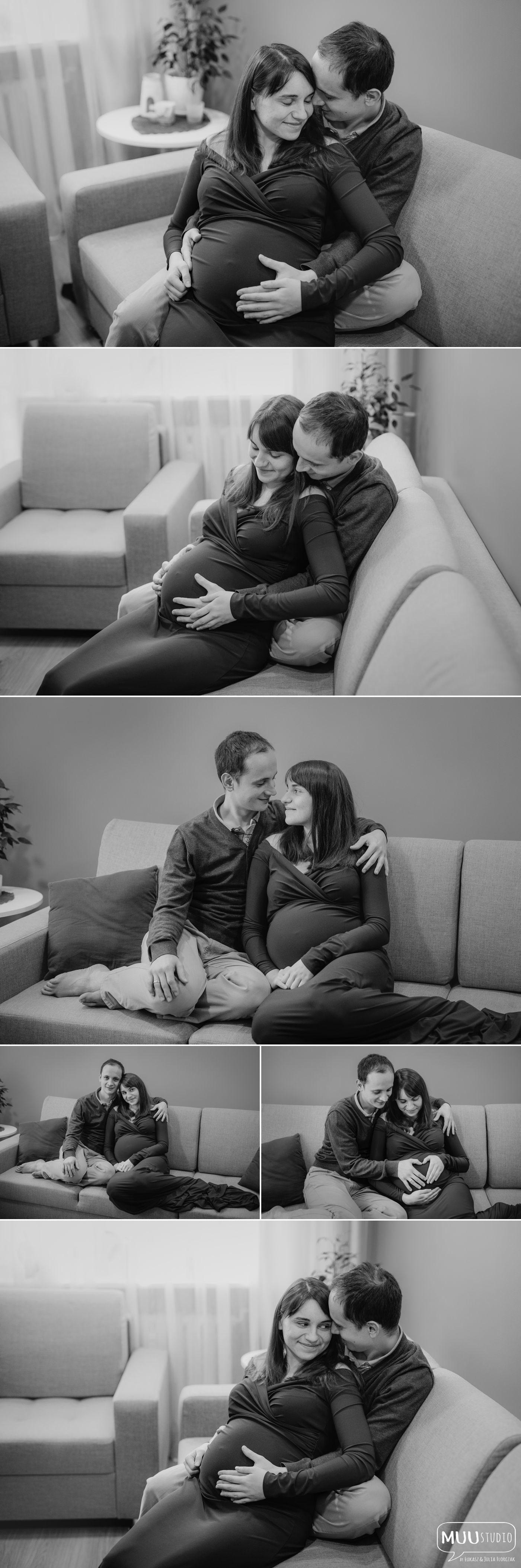 Sesja ciążowa w domu Białogard