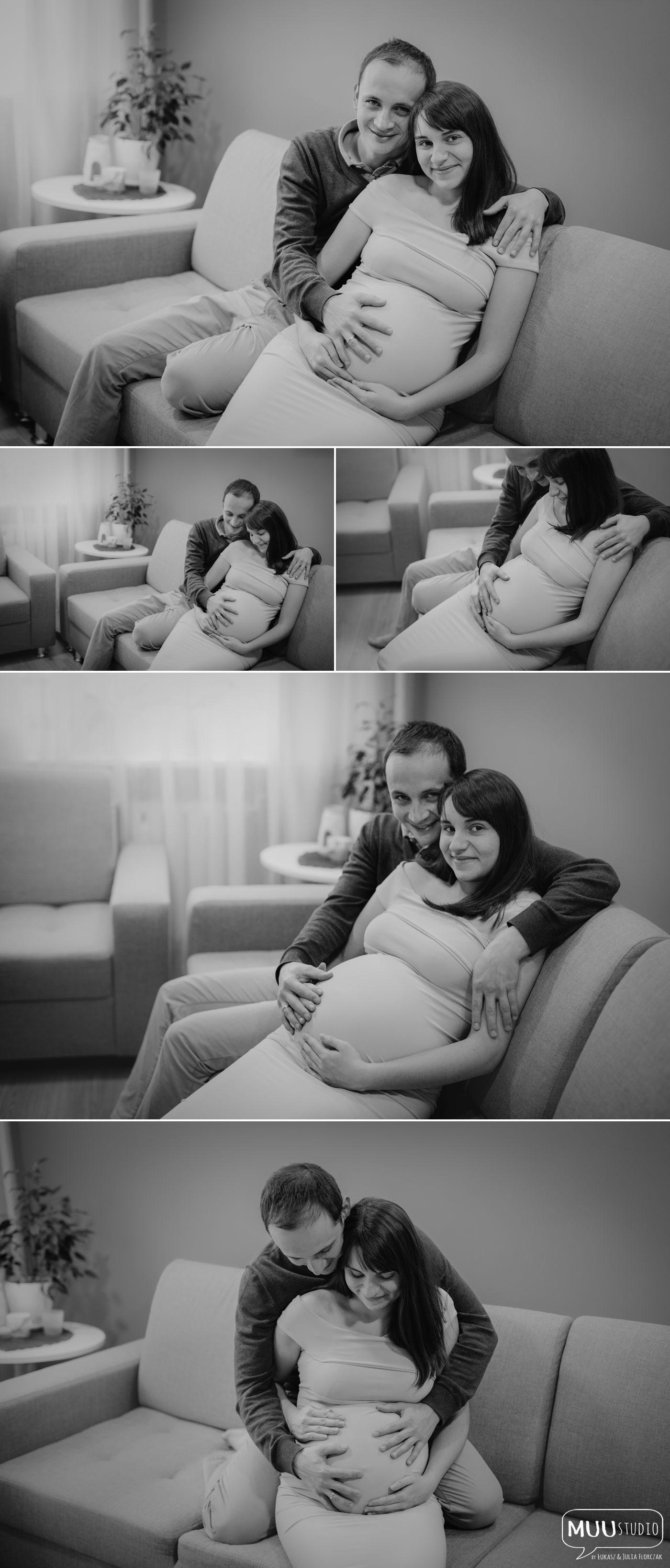 Sesja ciążowa w domu Świdwin
