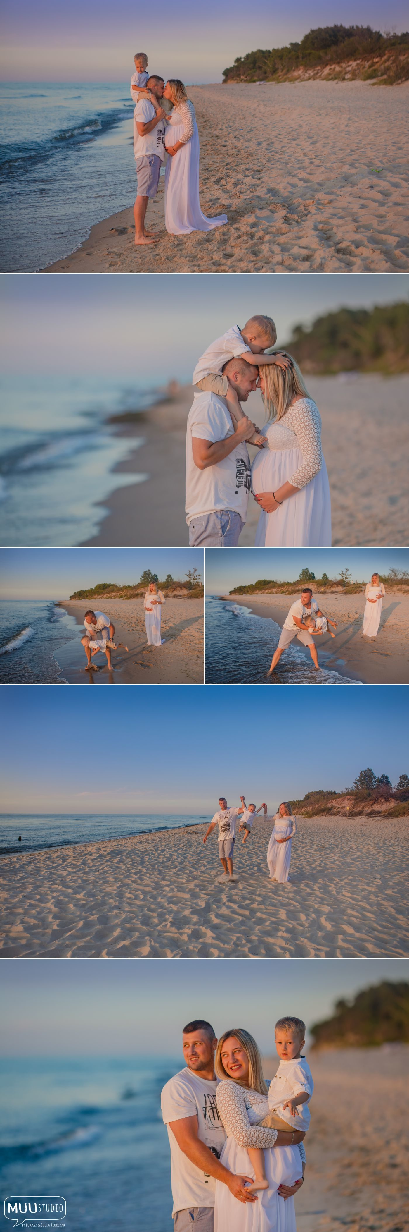 sesja fotograficzna nad morzem