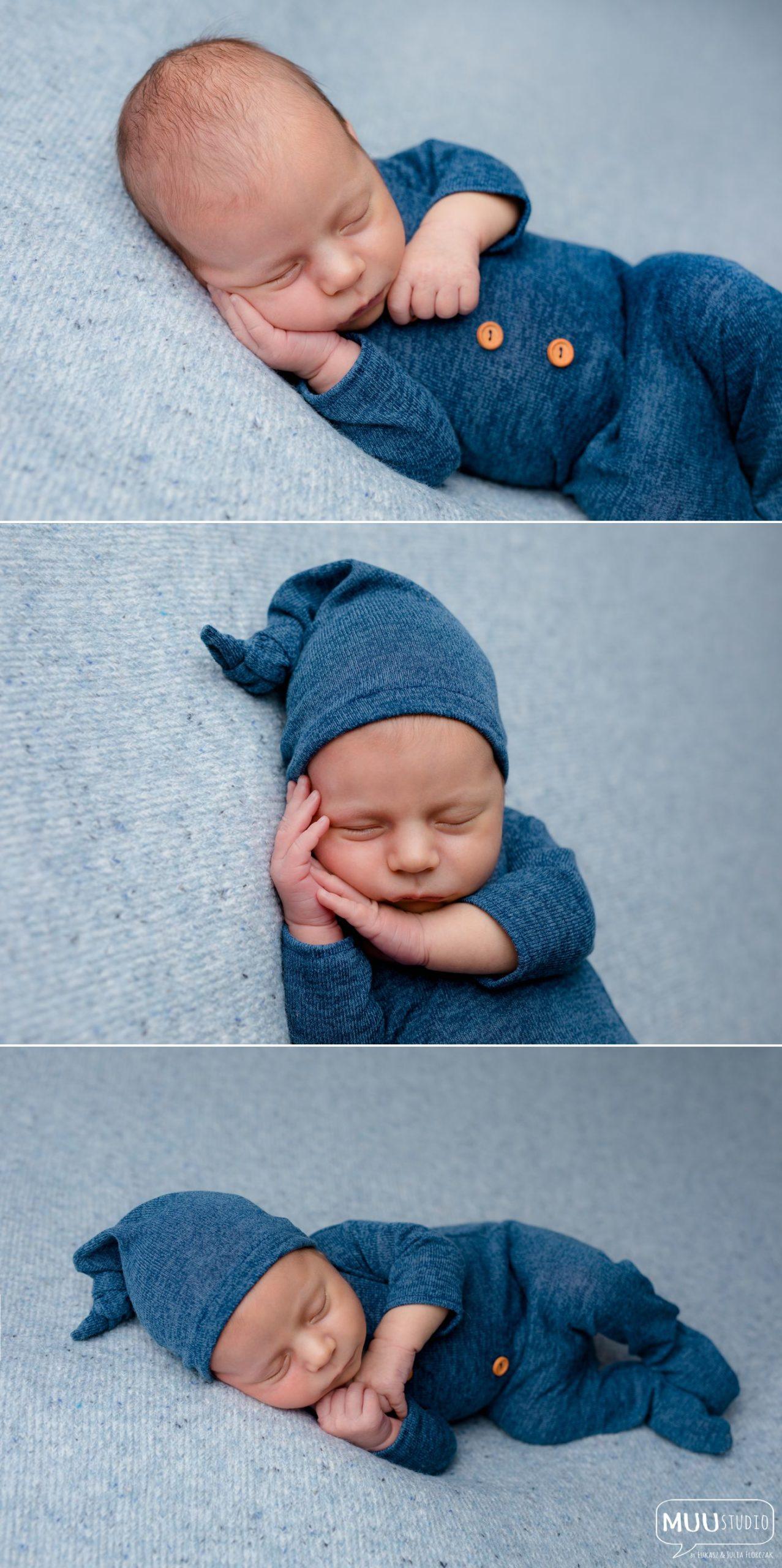 zdjęcia noworodkowe chłopięce połczyn zdrój